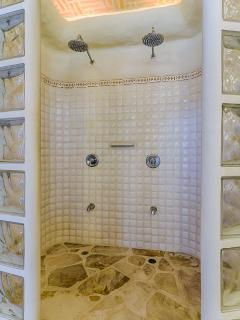 Double Shower for His and Her