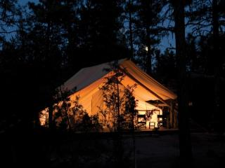 GLAMPING ON PRETTY HOBBY FARM: GLAMP RICHARD, North River