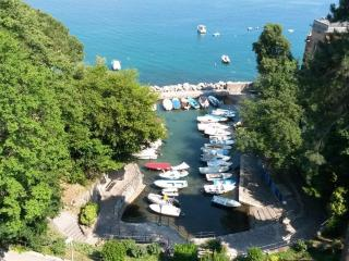 Apartment in center of Opatija with sea view