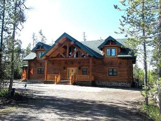 Grandpa's Retreat is tucked in the trees; yet close to activities, Island Park