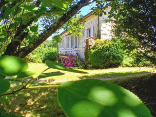 Beautiful mansion in Charente-Maritime w/WiFi, huge garden, private river access, near Saint Emilion, Montguyon