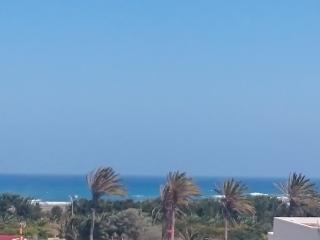 Central apartment in El Matorral, Fuerteventura, with 2 sea-view balconies - 500m from beach, Costa de Antigua
