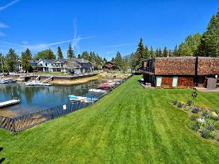 3BR/3BA Tahoe Keys Condo, Private Boat Dock, Waterway Views, Sleeps 10, South Lake Tahoe