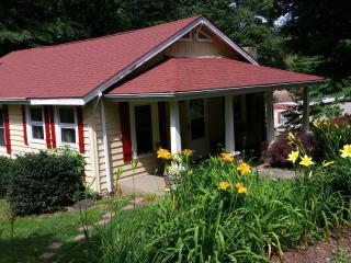 Cute Mountain Cottage with a Babbling Brook, Boone