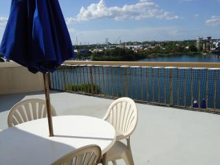 Studio with an amazing terrace, Orlando