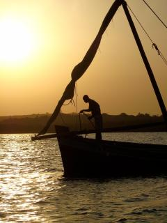 Recommended sunset dhow ride Kilifi Creek