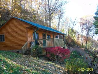 Hillside Cabin-3 miles from ASU w/ a View, Boone