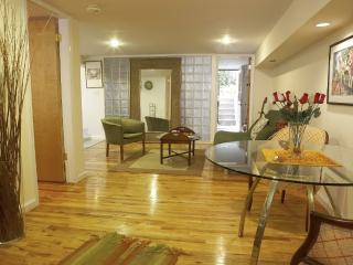 true 2 bedrooms, garden apt in Soho bckyrd/bbq, New York City