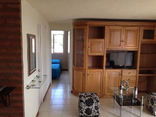 TWO BEDROOM APARTMENT WITH A NICE VIEW, IN POBLADO, Medellin