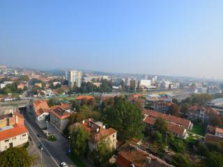 One bedroom apartment - panoramic view of Zagreb