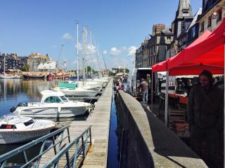 Central Honfleur studio with WiFi
