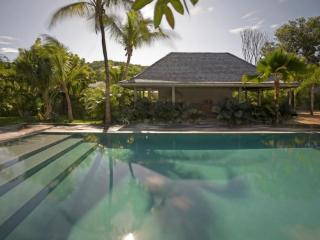 Luxury 5 bedroom Lorient villa. Private, tropical and a short walk to the beach!