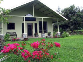 Upscale Mountain Home, oasis of flowers and birds, Boquete