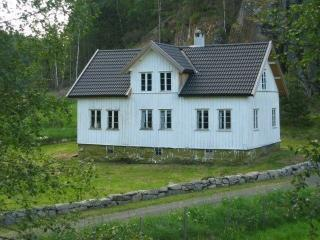 Cottage in the forests near Feda, Norway, Kvinlog