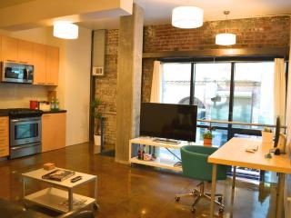 New, modern 1-bedroom loft w/ workspace in SoMa, San Francisco