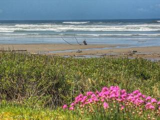 Topley House R528 Waldport Oregon ocean front vacation rental