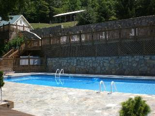 POND HOUSE: Sleeps 10! Heated Pool & Water Slide!, Asheville