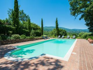 5 bedroom villa private pool and stunning view, Caprese Michelangelo