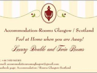 LUXURY 3 BEDROOM FLAT- UP TO 8 BEDS! Free wifi!, Glasgow