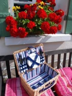 Picnic basket for hire