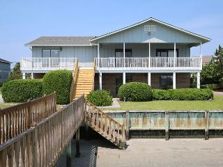 Million Dollar View - 7 bedroom house with a dock and deep water boat access, Wrightsville Beach