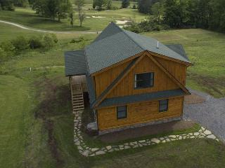 Stunning newly built log home on Fantasy Valley Golf Course, McHenry