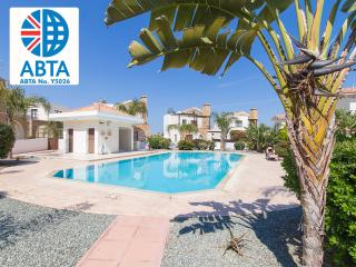 Oceanview Villa 121 - 4 bed with communal pool, Ayia Napa