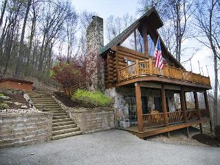 Adventures happen in this spectacular 4 Bedroom Mountain Log Home!, McHenry