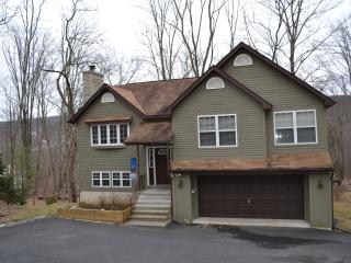 'Bear & Moose' Themed Pocono Home With Log Beds!, East Stroudsburg