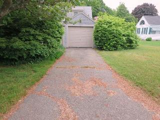 Driveway is in back on Wyndemere max parking at house 3 cars - 13 Lincoln Village Harwich Port Cape Cod New England Vacation Rentals