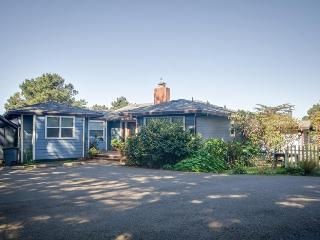 3BR home w/fireplace; decks & ocean view;  jet tub, Mendocino