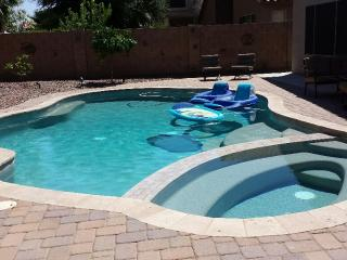 Johnson Ranch Golf Course Community home with pool, Queen Creek