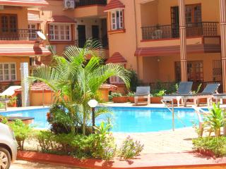 41) 1 Bed Apartment Calangute Sleeps 2/4