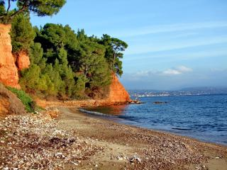 First in the sea and the pine forest, Nikiti