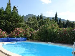 Beautiful and confortable villa with pool and view, Montesquieu des Alberes