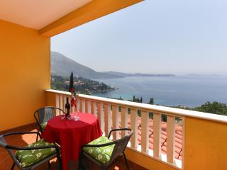 Villa Sunset Apartment 2 with beautiful sea view, Plat