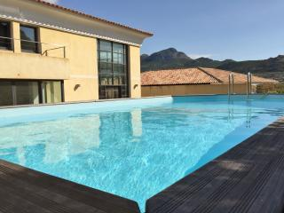 Large luxury house, pool and sea view, Calvi