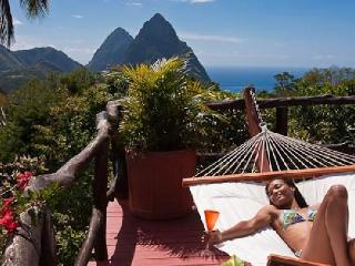 The Elegant Tree house  with stunning Piton views, Soufrière