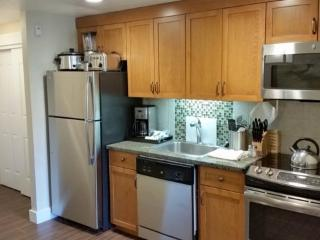 Full kitchen with full size appliances