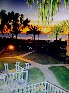 Everyone loves to watch the sunset each evening, from  this condo  you will too.