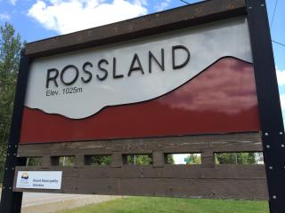 Mountain Bike and Skiing Paradise, Rossland