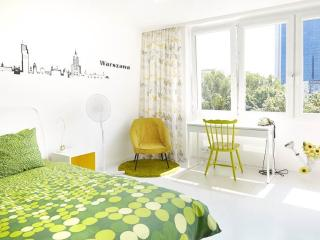 Lovely Sunny Flat in City Center, Warsaw