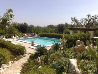 Hill top with pool, superb views great amenities, Ostuni