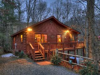 Cabin Rental in the North Georgia Mountains,  Quiet Peacefull,