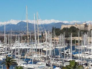 French Riviera view Marina Antibes 3