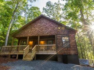 Take A Breath - Newly constructed family resort cabin. 2 bedrooms, 2 1/2 baths and a hot tub., Ellijay