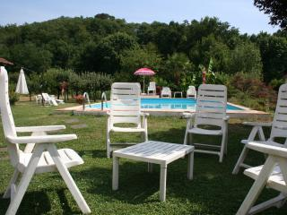 Casale i Girasoli: romantic apt, park and pool, Barga