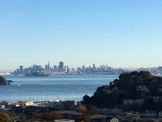 Gorgeous SF bay views from cozy 1-br pied-à-terre, Tiburon