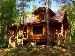 Six Mile Cabin - Very private northwoods cabin on beautiful Six Mile Lake, Ely