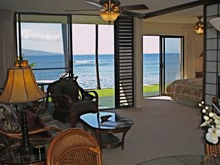 Wow! Beautiful Maui Oceanfront 2bd/2bath free WIFI, Maalaea